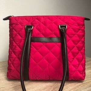 Talbots Quilted Tote